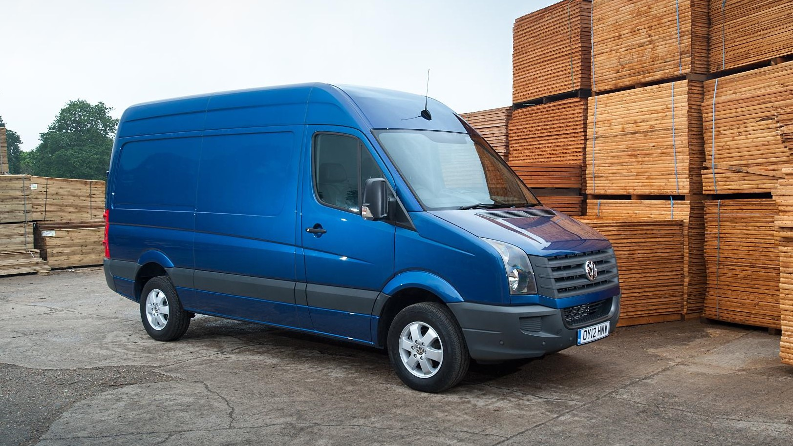 Vw Crafter Commercialvehicle Com