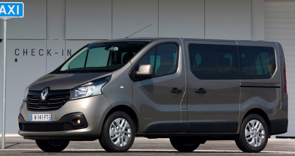 New Renault Trafic And Master Passenger Vans Available