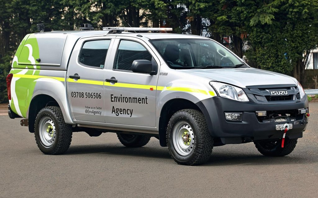 Isuzu D Max Is The Choice Of The Environment Agency