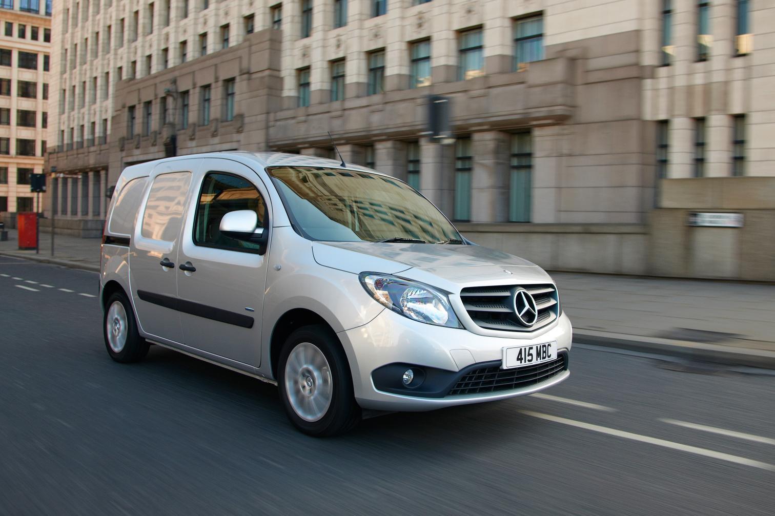 e002b629adc033 Northern Ireland firms enjoys its new Mercedes Citan. by news