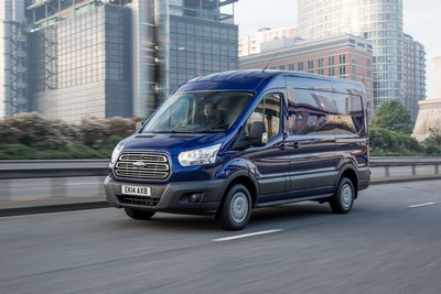 The new Ford Transit is the best-selling