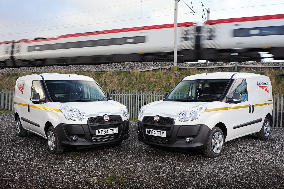 Network Rail Opts For Fiat Doblo Cargo Vans