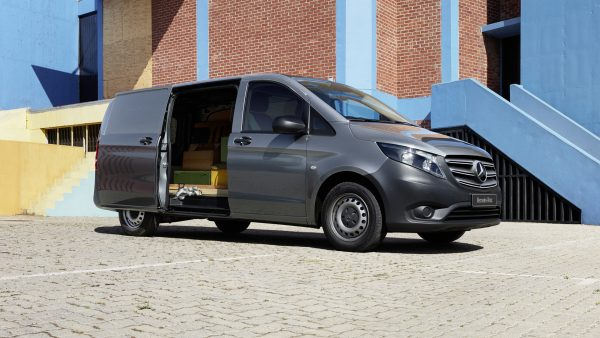 Loading area for the Mercedes Vito van