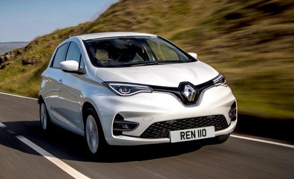 The all-new Renault Zoe Van