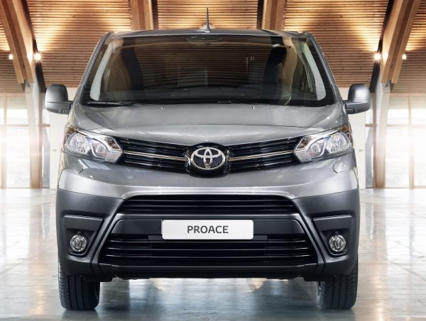 The Toyota Proace panel van