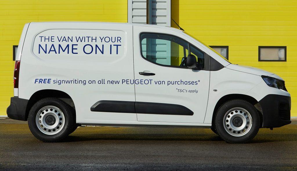 A Peugeot van