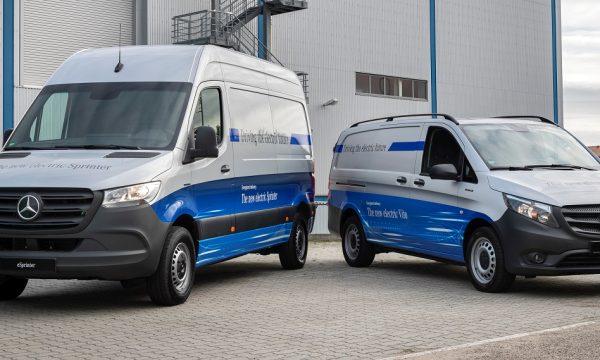 Mercedes eSprinter and eVito Service plan