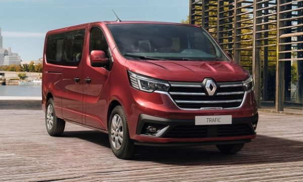 new Renault Trafic Passenger and SpaceClass