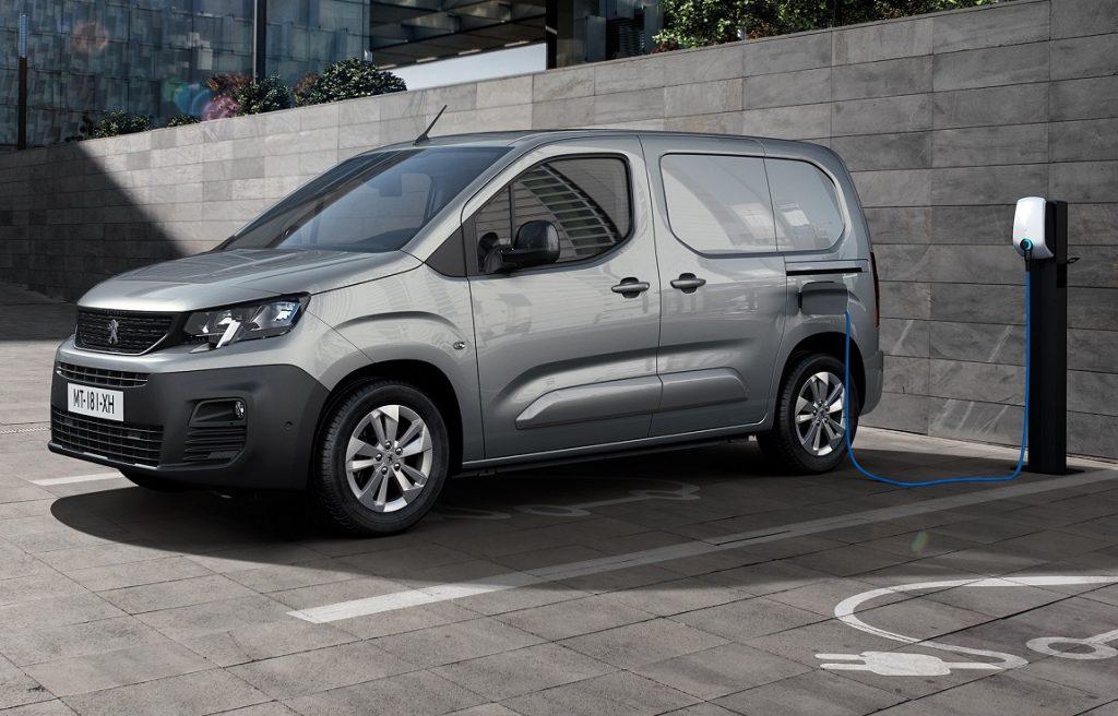 Peugeot e-Partner electric van