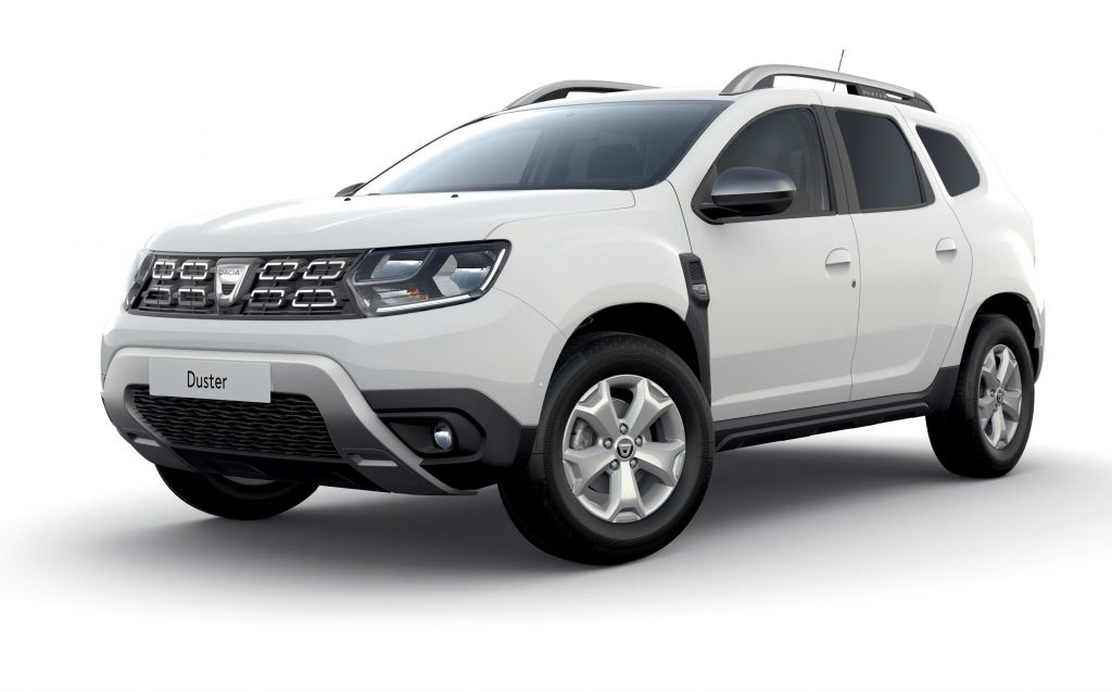 Dacia Duster Commercial front view