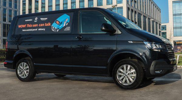 VW van voice assist side