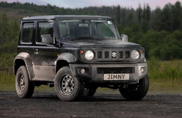 Suzuki Jimny LCV front