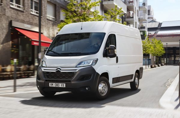 Citroen e-Relay launched front